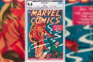 Chi 1,26 triệu USD để sở hữu cuốn truyện tranh đầu tiên của Marvel