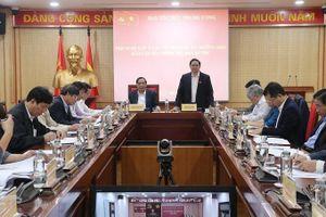Ban Tổ chức Trung ương tổ chức Hội nghị lấy ý kiến đóng góp vào dự thảo các đề án, báo cáo, hướng dẫn trình Bộ Chính trị, Ban Bí thư