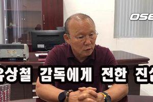 HLV Park Hang Seo bật khóc nhắn học trò ung thư giai đoạn cuối: 'Đừng đi trước thầy'
