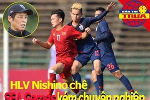 Nishino chê SEA Games nghiệp dư; Nữ Việt Nam được thưởng lớn