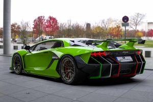 Lamborghini Aventador hầm hố hơn bộ kit thân rộng giá 50.000 USD