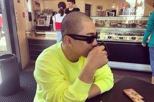 Tae Yang (Big Bang) cạo đầu