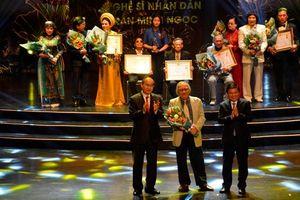 TP.HCM: Vinh danh các nghệ sĩ được Nhà nước trao tặng danh hiệu cao quý