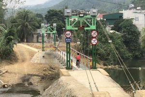 Khánh thành cầu treo Làng Xi nơi thượng nguồn sông Mã