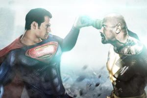 Siêu anh hùng của The Rock sớm đối đầu với Siêu Nhân?