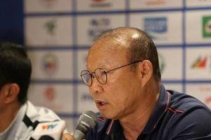 HLV Park Hang-seo: Chúng tôi phải chuẩn bị kỹ lưỡng cho từng trận đấu