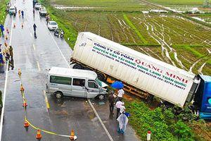 Danh sách nạn nhân thương vong vụ ôtô chở sư thầy tông xe container ở Quảng Ngãi