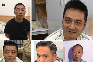 Bắt 5 người Trung Quốc trốn truy nã sang Việt Nam