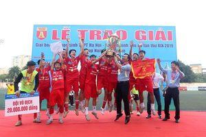 Trường Ngô Sỹ Liên vô địch giải học sinh THPT Hà Nội