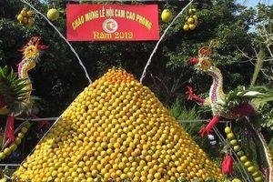 Hòa Bình: Từng bừng chào mừng lễ hội Cam Cao Phong lần thứ 5