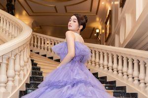 Kaity Nguyễn diện váy công chúa, thả dáng mong manh tại sự kiện