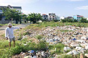 Khu đô thị mới Phước Long A: Ô nhiễm vì xà bần, rác thải