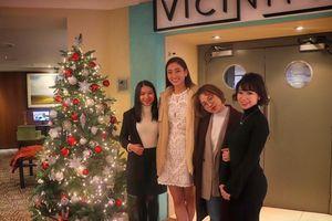 Lương Thùy Linh chọn màu hồng chuẩn gu Miss World