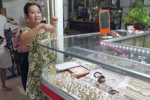 1 tiệm vàng ở Long An bị cướp