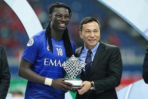 Đại diện Việt Nam nhận vinh dự trao giải tại AFC Champions League