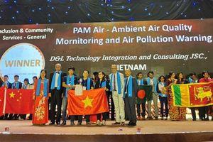 Ứng dụng PAM Air của Việt Nam chiến thắng tại APICTA Awards 2019