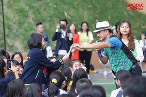 Hàng nghìn học sinh Hà Nội hưởng ứng đẩy lùi bạo lực học đường