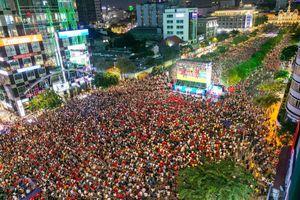 Sea Games 30: Người dân có thể cổ vũ U22 Việt Nam tại 'chảo lửa' Nguyễn Huệ