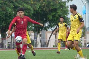 Đức Chinh lập hattrick, U22 Việt Nam đại thắng 6-0 trước U22 Brunei
