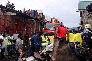Tai nạn máy bay ở miền đông Congo: Ít nhất 27 người chết