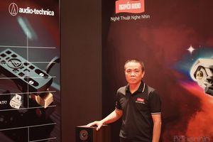 Chia sẻ về Audio-Technica tại phòng nghe Nguyễn Audio