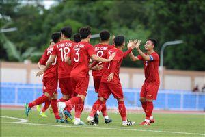 Đức Chinh tỏa sáng, U22 Việt Nam dẫn trước U22 Brunei 2-0 trong hiệp 1