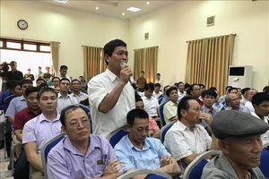 Thanh tra Chính phủ và Hà Nội đối thoại với công dân xã Đồng Tâm - Mỹ Đức