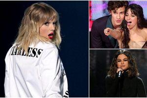 AMAs 2019: Không chỉ trên sân khấu, Taylor Swift còn 'tỏa sáng' dưới khán đài nhờ Camila, Selena như thế này