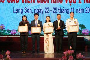 Thí sinh Ngần Thị Thu Hà (Sơn La) đoạt giải Nhất Hội thi Báo cáo viên giỏi khu vực I năm 2019