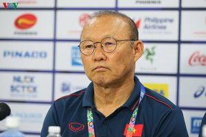 HLV Park Hang Seo nói gì sau trận đấu U22 Việt Nam 6-0 U22 Brunei?