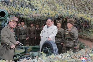 Chủ tịch Triều Tiên Kim Jong-un thị sát tập trận gần biên giới Hàn Quốc