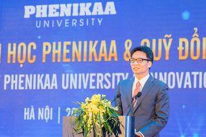 Phó Thủ tướng Vũ Đức Đam: 'Quỹ đầu tư Phenikaa hi vọng sẽ trở thành cánh tay đỡ cho các ý tưởng sáng tạo, nhất là ý tưởng của sinh viên'