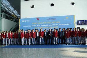 Đoàn TTVN mang nhiều 'hy vọng Vàng' lên đường dự SEA Games 30