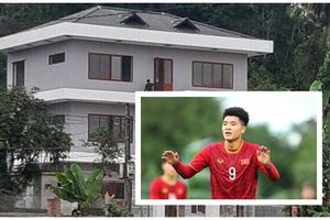 Ngắm lại ngôi nhà 2 tỷ của Hà Đức Chinh ghi 4 bàn vào lưới U22 Brunei