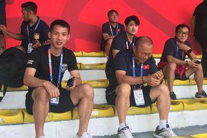 Ông Park đích thân 'do thám', cử người quay hình trận đấu có U22 Thái Lan