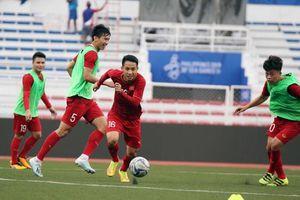 U22 Việt Nam lao vào tập luyện, chuẩn bị cho trận đấu với U22 Lào