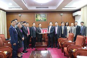 Tăng cường sự hợp tác giữa ngành Tuyên giáo Việt Nam - Lào