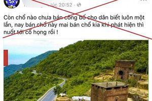 Sự thật vụ 200 ha đất trên đỉnh Hải Vân bán cho người Trung Quốc