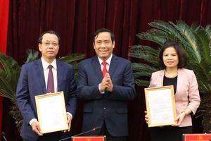 Ban Bí thư chuẩn y 2 tân Phó Bí thư Tỉnh ủy Bắc Ninh