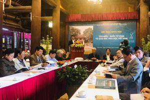 Lịch sử khoa cử Việt Nam với truyền thống giáo dục Nho học