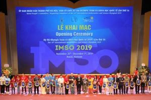 Tổ chức Kỳ thi IMSO 2019: Hà Nội góp phần khẳng định được vị thế của Việt Nam qua các kỳ thi quốc tế