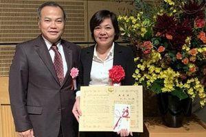 Nhật Bản vinh danh nhà khoa học Mai Thị Ngần