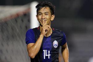 Đè bẹp U22 Timor-Leste 5-0, Campuchia đứng đầu bảng A