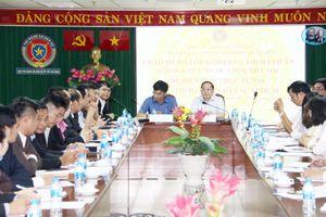 Đoàn Học viên Lào học tập và trao đổi nghiệp vụ tại Cục THADS TP. Hồ Chí Minh
