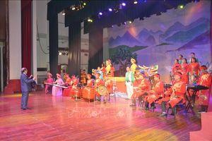 Độc đáo chương trình nghệ thuật 'Hương sắc Quê Thanh'
