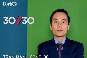 Trần Mạnh Công – Startup 'đỡ đầu' các Doanh nghiệp khởi nghiệp