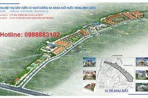 Công ty Kim Tơ bị phạt gần 1 tỷ đồng vì xây dựng trái phép tại dự án Bình Châu Green Garden Villa