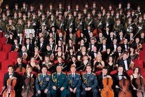 Dàn quân nhạc của Tổng thống Putin sẽ giao lưu với Dàn Quân nhạc Công an