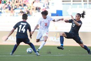 Thắng U22 Philippines, U22 Myanmar sáng cửa vào bán kết SEA Games 30