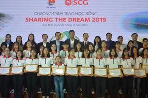 Thái Bình: Trao học bổng 300 triệu đồng cho sinh viên có hoàn cảnh khó khăn